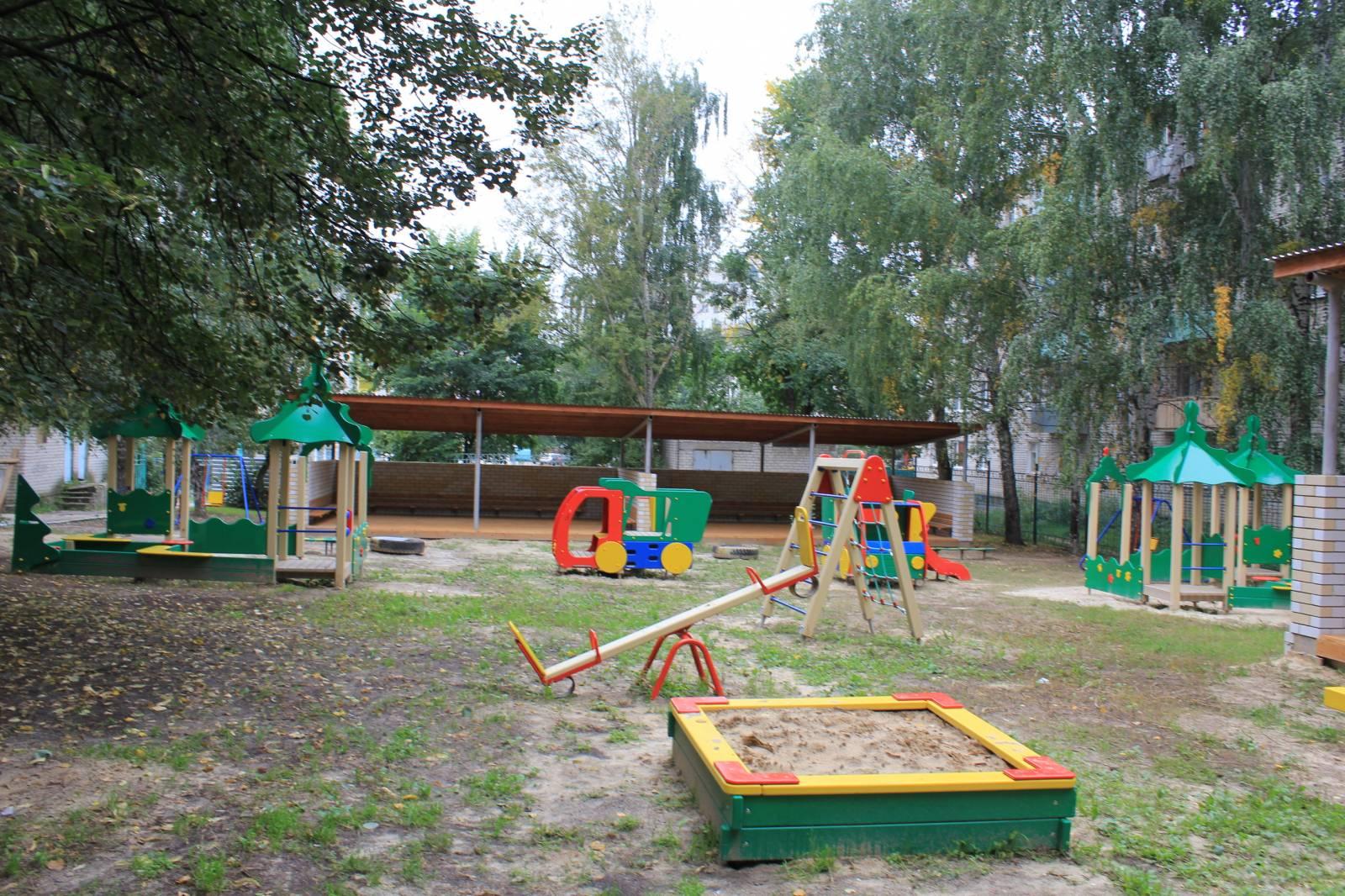 Фото участки детских садов